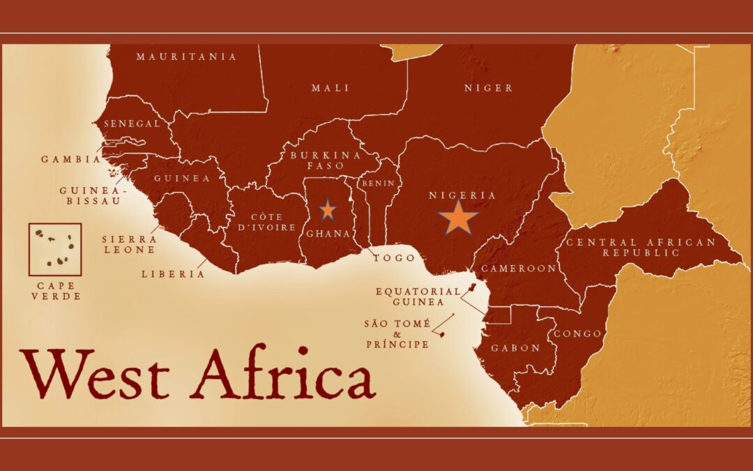 Chris is in West Africa!