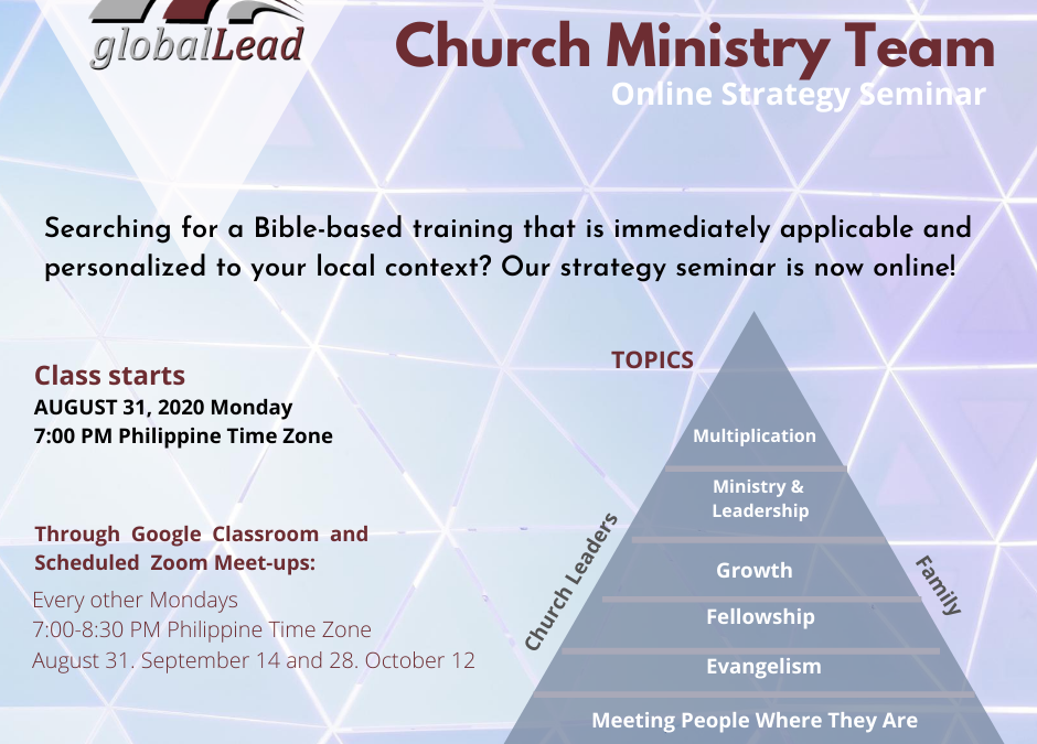 Ministry Strategy Seminar